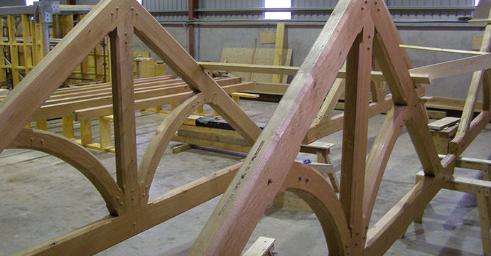 Ats Roof Trusses Feature Trusses Metal Web Joists Metal